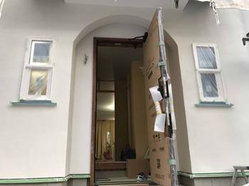 外壁塗り工事が完了しました