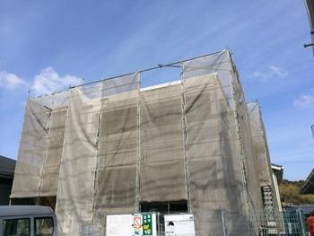 「モルタル漆喰」施工