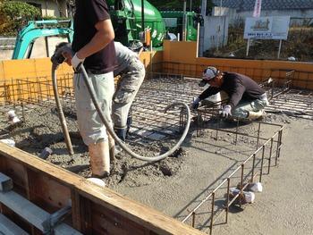 神戸の無添加住宅、基礎工事その2