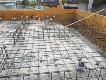 神戸市、新築基礎工事その2