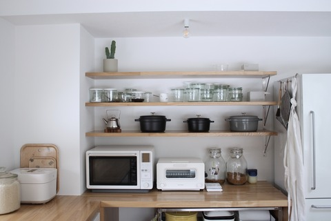 キッチン収納、ちょっと詳しく