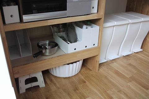 キッチンに新しい収納アイテム、でも迷っています