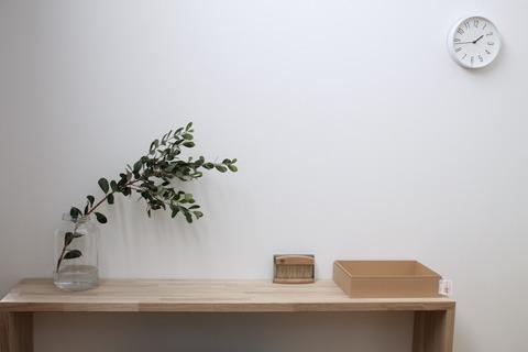 無印の紙箱、ちょっとカスタマイズ