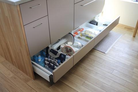 初登場、使えるキッチン収納ー引き出し編ー