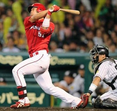 鈴木誠也.325(1位)38本(2位)87打点出塁率.439 OPS1.100