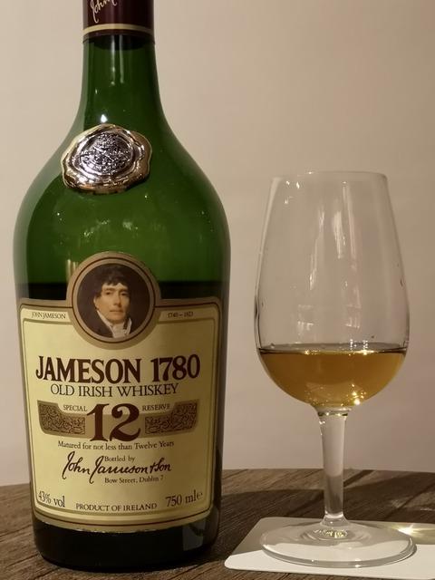 ジェムソン 1780 12年 1980年代流通 43%