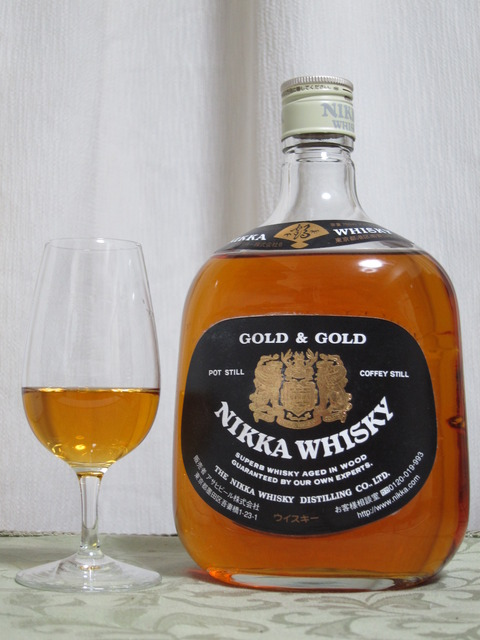 ニッカウイスキー G&G (ゴールド&ゴールド) 白ビン 43%