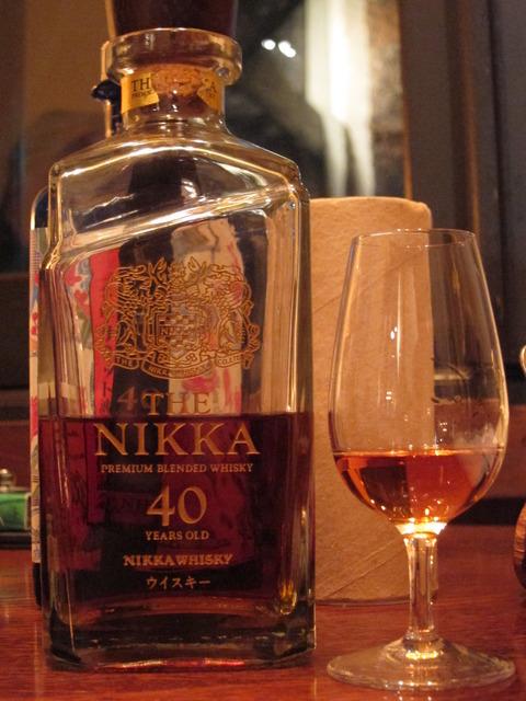 ザ・ニッカ 40年 ブレンデッドウイスキー 43%