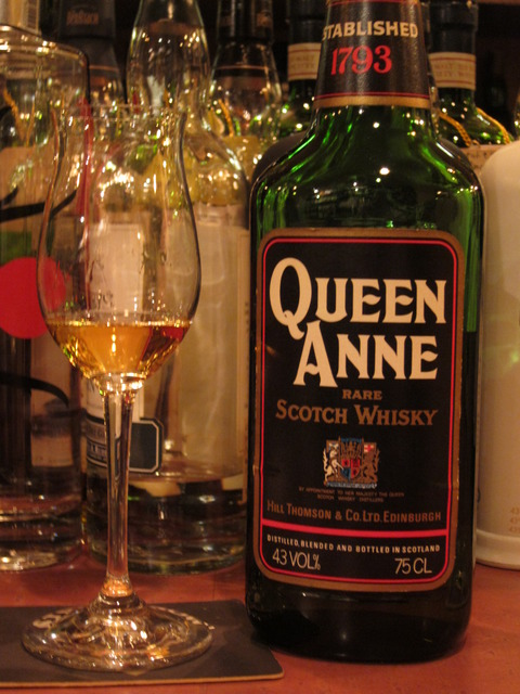 クイーンアン 1970年代流通 43% ウイスキー特級