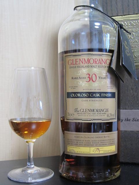 グレンモーレンジ 30年 オロロソカスクフィニッシュ 44.3%
