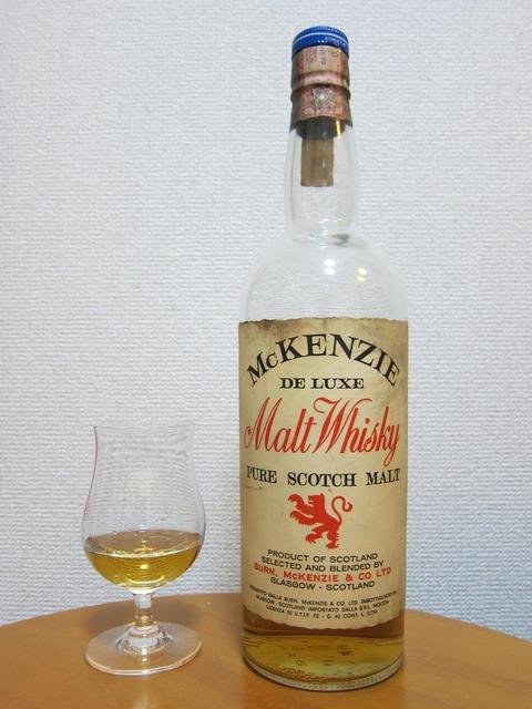 マッケンジー デラックスモルトウイスキー 1960年代流通