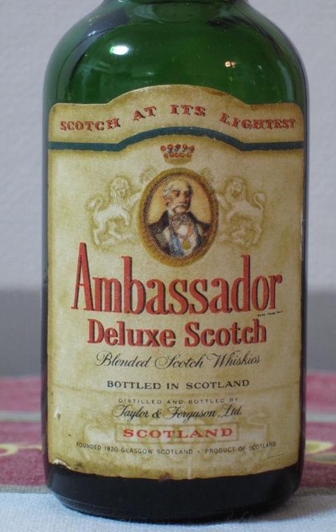 アンバサダー デラックススコッチ 43% 1960年代流通 特級表記