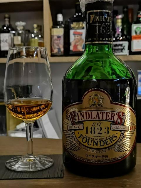 フィンドレイター 1823 ファウンダーズ 43% 特級表記