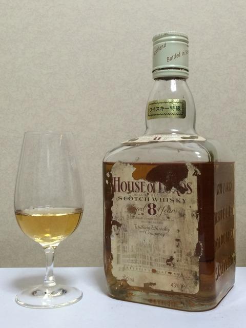 ハウスオブローズ 8年 1980年代流通 ウイスキー特級