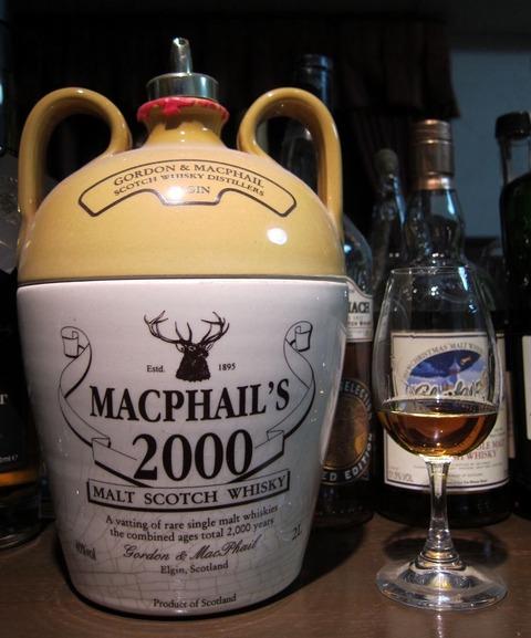 マクファイルズ 2000年記念ボトル GM 40% 2000ml