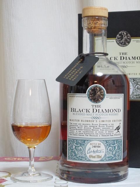 フェイマスグラウス ブラックダイヤモンド ブレンデッドモルト 45%