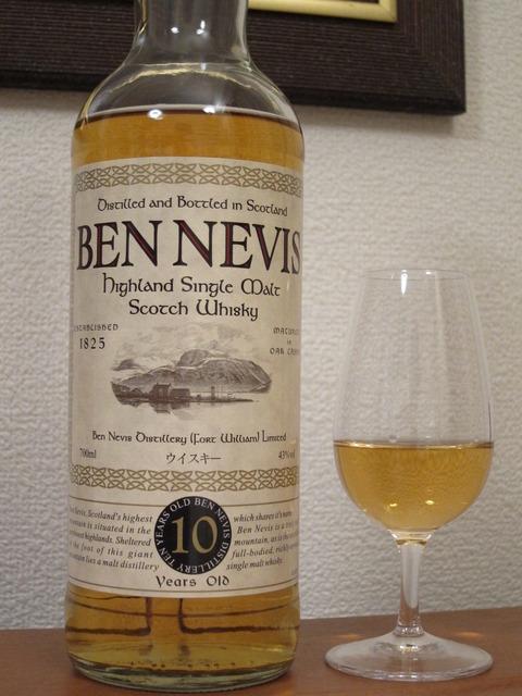 ベンネヴィス 10年 43% ニッカウイスキー正規品
