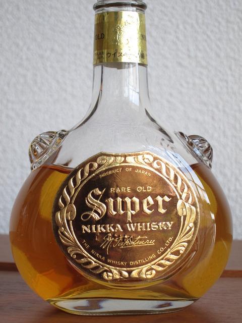 ニッカウイスキー スーパーニッカ 1970年代流通 特級表記 43%