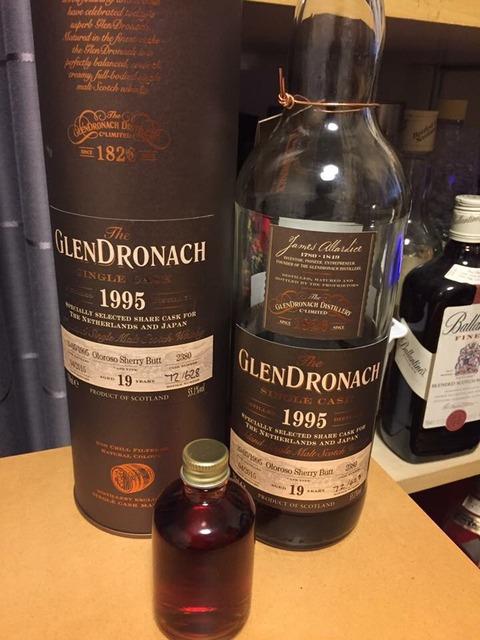 グレンドロナック 19年 1995-2015 オロロソシェリー 55.1% ブラインド