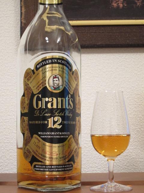 グランツ 12年 1980年代流通 免税向け 1リッターボトル