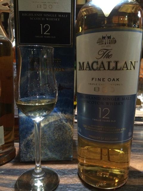 マッカラン 12年 ファインオーク オフィシャルボトル