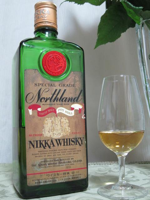 ニッカウイスキー ノースランド 角瓶 1970年代流通 特級表記