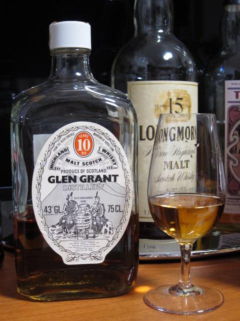 グレングラント 10年 1970年代流通 43% スクウェアボトル