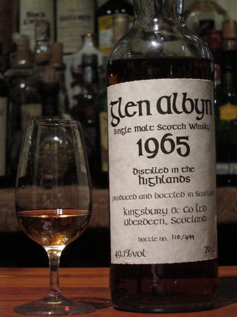 グレンアルビン 34年 1965-2000 キングスバリー 49.1%