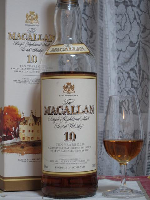 マッカラン 10年 2000年代初頭流通 40%