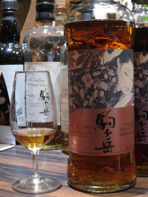 駒ケ岳 30年 1986-2016 シェリーカスク 48% 本坊酒造