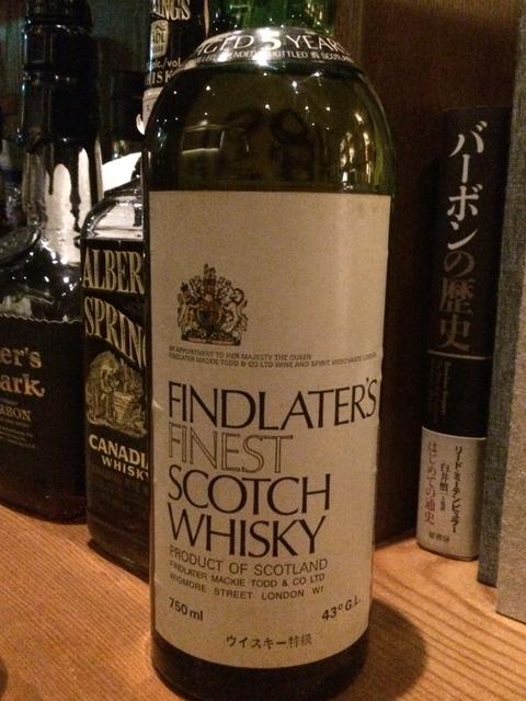 フィンドレイター 5年 1980年代流通 ウイスキー特級