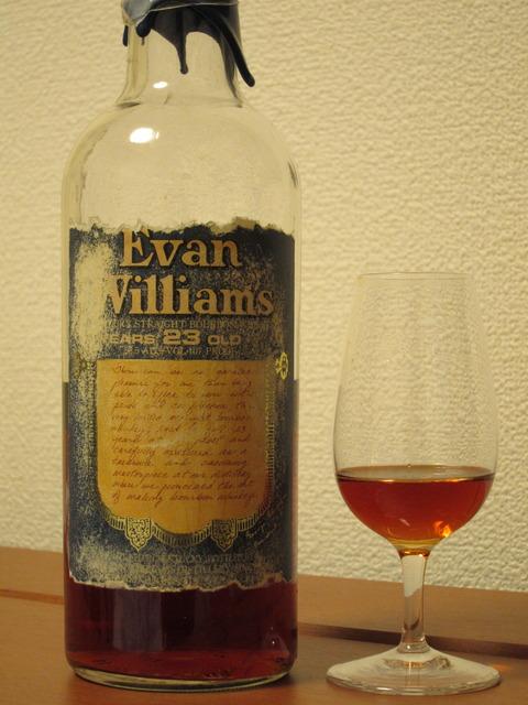 エヴァンウィリアムズ 23年 1997年ごろ流通品 53.5%