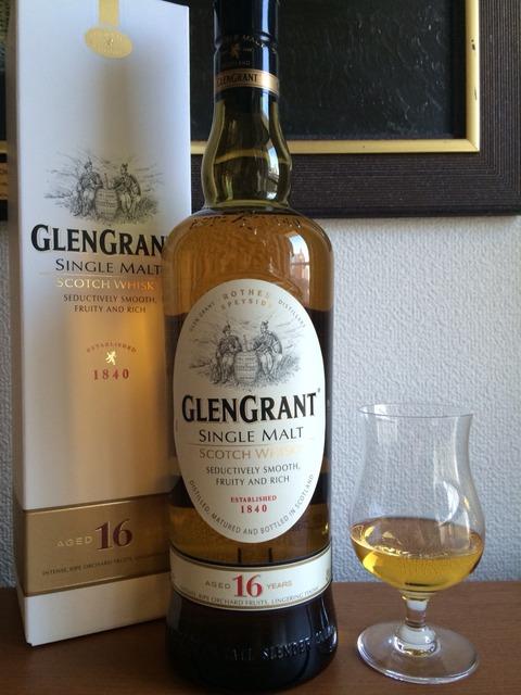 グレングラント16年 オフィシャルボトル