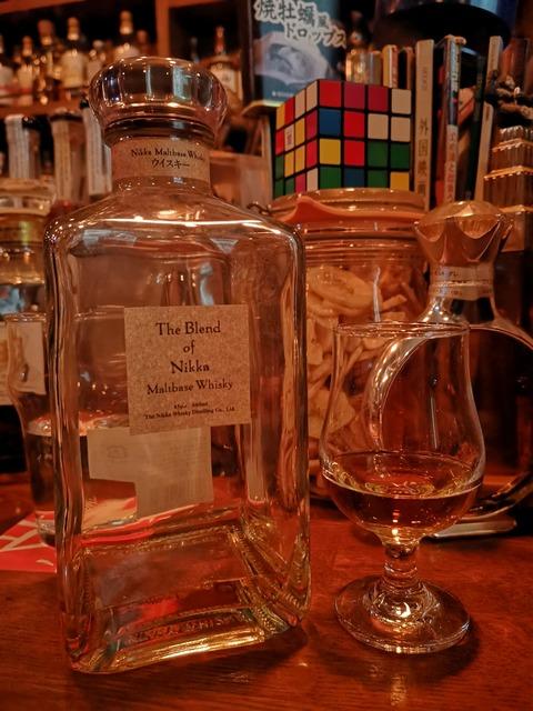ザ・ブレンド (ブレンドオブニッカ) モルトベースウイスキー 45%