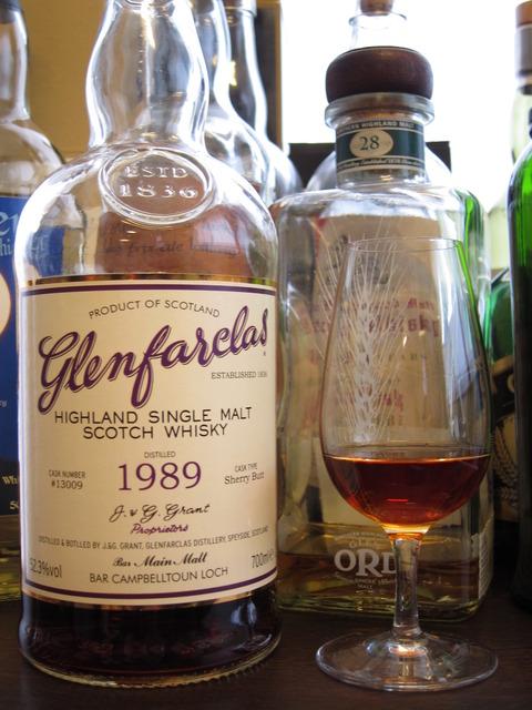 グレンファークラス 1989-2016 メインモルト&キャンベルタウンロッホ共同ボトル 52.3%