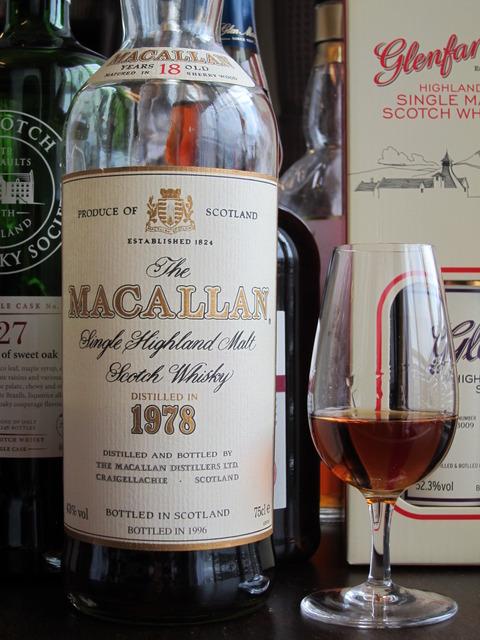 マッカラン 18年 1978年蒸留 43% オフィシャル