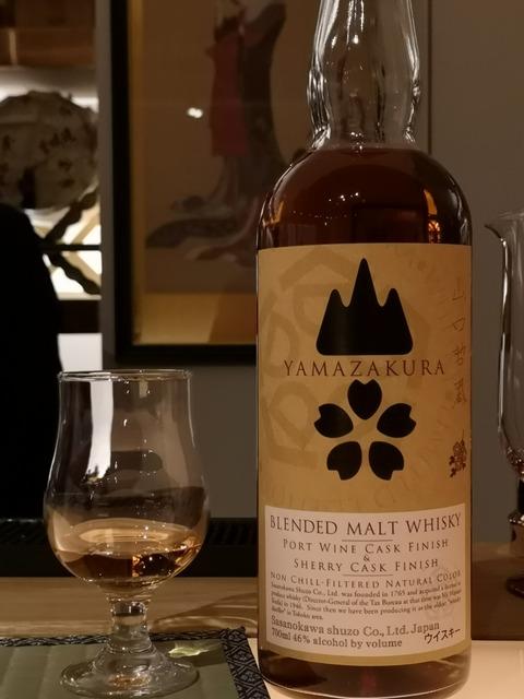 山桜 ブレンデッドモルト ポートワイン&シェリーカスクフィニッシュ 46%