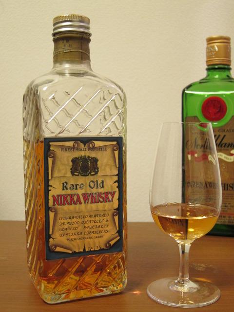 ニッカウイスキー レアオールド 角瓶(新角) 1950年代流通 37%