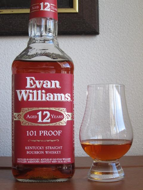 エヴァンウィリアムズ 12年 101Proof 50.5%