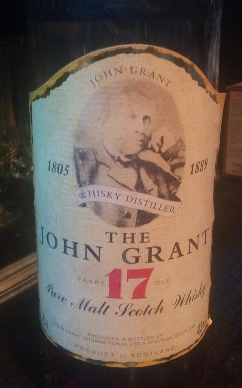 ジョン グラント (グレンファークラス) 17年 ピュアモルト 1980年代流通 43%