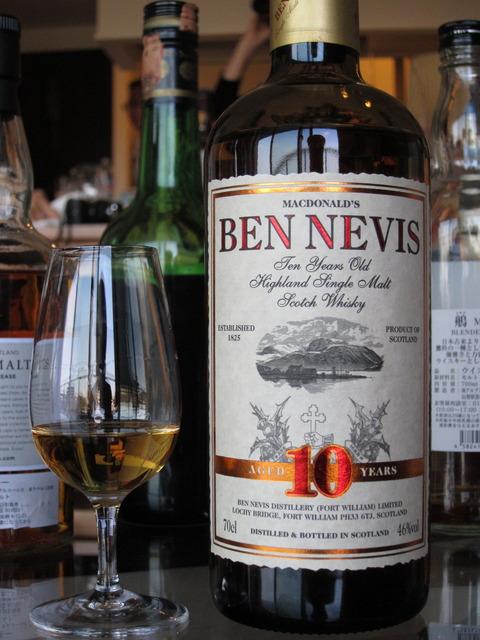 ベンネヴィス 10年 46% イギリス向けオフィシャル