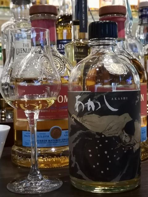 あかし 3年 2015-2018 日本酒カスク ゴーストシリーズ 61.5%