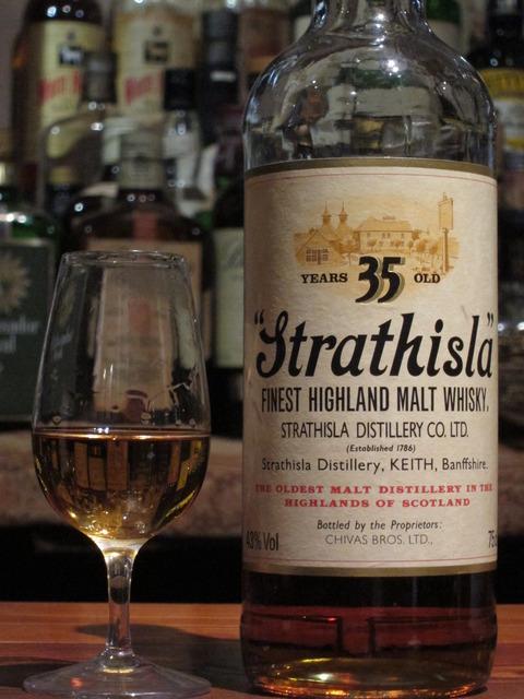 ストラスアイラ 35年 1986年リリース 200周年記念ボトル 43%