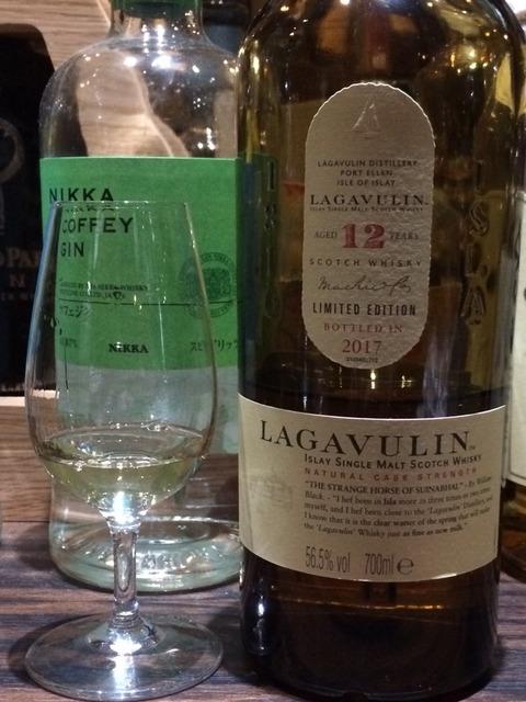 ラガヴーリン 12年 カスクストレングス 2017年ボトリング 56.5%