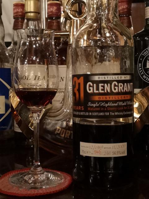 グレングラント 31年 1969-2000 ウイスキーエクスチェンジ 56.9%