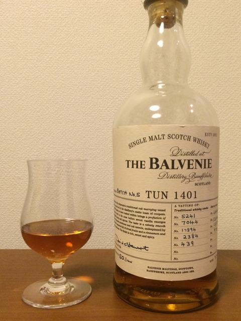 バルヴェニー TUN1401 Batch No,5 オフィシャルボトル