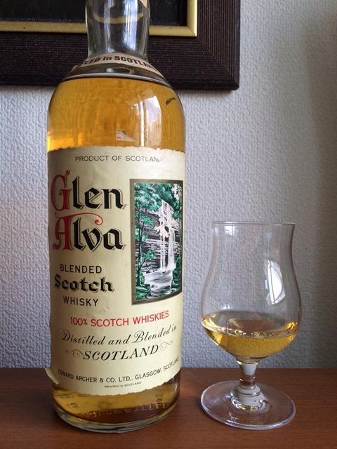 """グレンアルバ 1970年代初頭流通 """"ウイスキー特級"""" JAPAN TAX"""