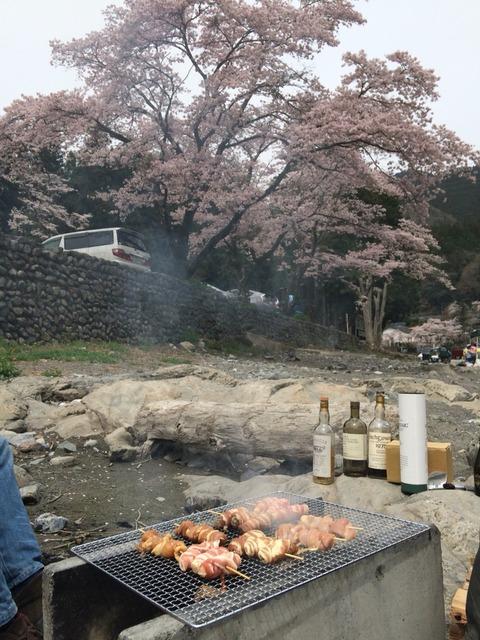 GWなので肉と酒もって出かけよう 野外で楽しむウイスキー