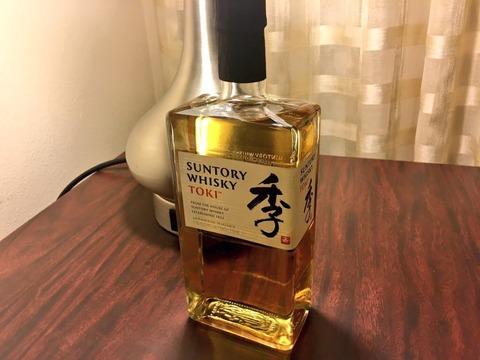 サントリーウイスキー 季 TOKI (とき) 43% 北米市場限定品