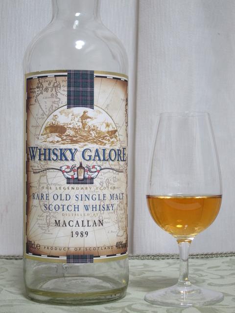 マッカラン 18年 1989-2008 ウイスキーガロア(ダンカンテイラー) 40%